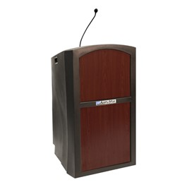 Pinnacle Lectern w/ Wired Microphone