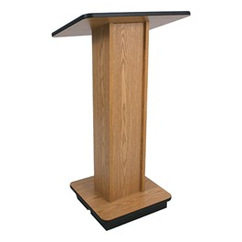 Elite Wood Podium - Medium Oak