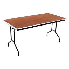 Rectangle Folding Banquet Table w/ Aluminum Edge