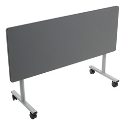 Rectangle Mobile EZ-Tilt Cafeteria Table - Folded
