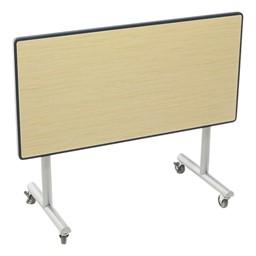 Mobile Tilt Booth Table - Folded