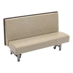 Mobile Folding Booth Seating - Gold Granite