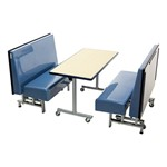 Mobile Folding Booth & Table Package - Blue Granite