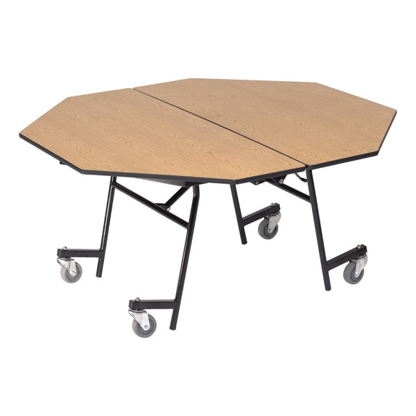 Mobile Cafeteria Table - Octagon