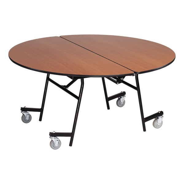 Mobile Cafeteria Table - Round
