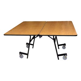 Mobile Cafeteria Table - Square