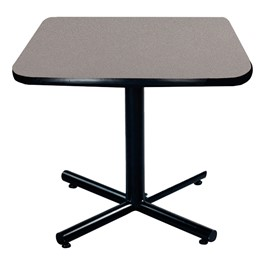 Square Pedestal Cafe Table