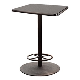 Square Stool-Height Cafe Table
