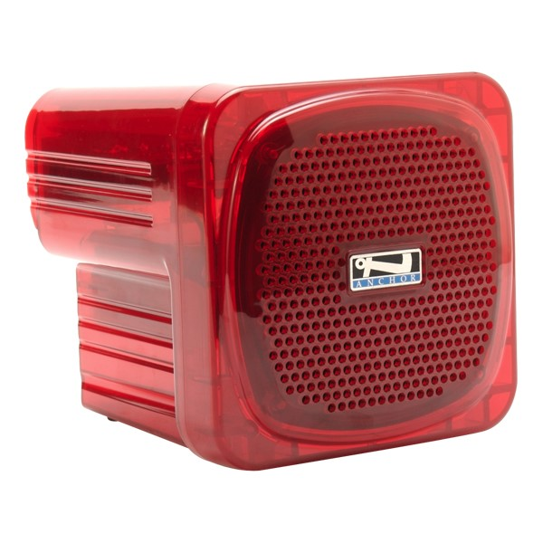 AN-Mini Lightweight Speaker (System without Mic) - Red
