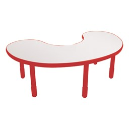 Kidney BaseLine Table - Candy Apple Red