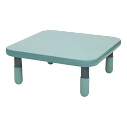Square BaseLine Table - Teal Green