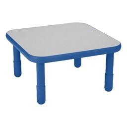 Square BaseLine Table - Royal Blue
