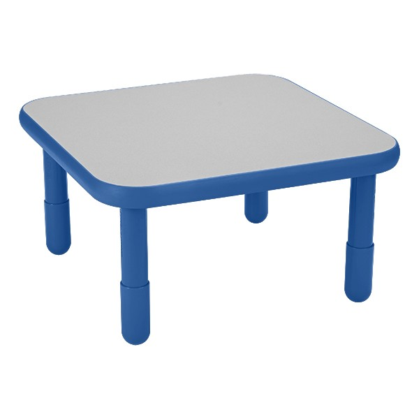 Square BaseLine Table - Royal Blue