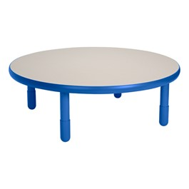 Round BaseLine Table - Royal Blue