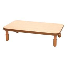 Rectangle BaseLine Table - Natural Wood