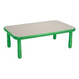 Rectangle BaseLine Table - Shamrock Green