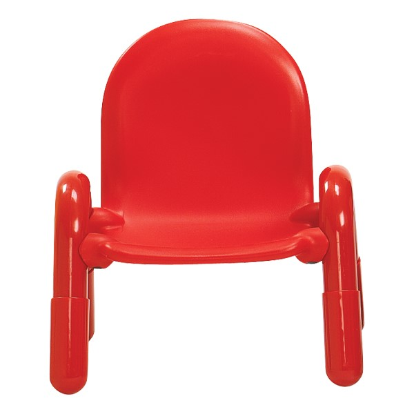 """BaseLine Chair (7"""" Seat Height) - Candy Apple Red"""