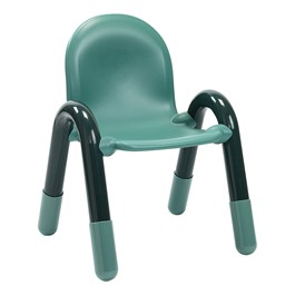 BaseLine Kids Plastic Chair - Teal Green