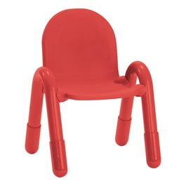 """BaseLine Chair (11\"""" Seat Height) - Candy Apple Red"""