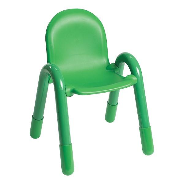 "BaseLine Kids Plastic Chair (13"" Seat Height) - Shamrock Green"
