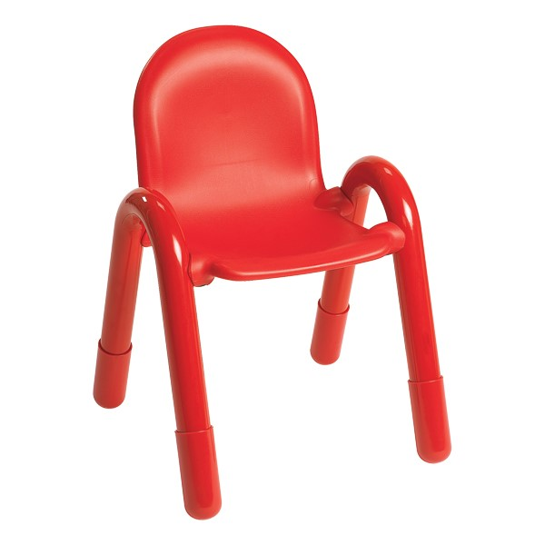 """BaseLine Kids Chair (13"""" Seat Height) - Candy Apple Red"""