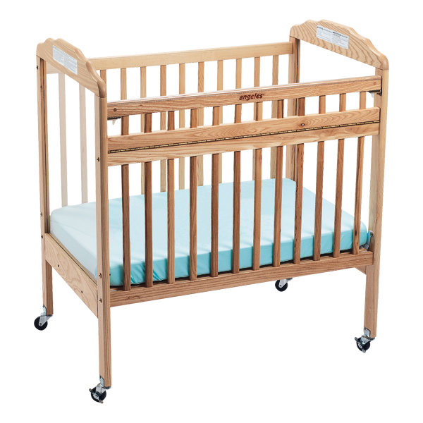 Angeles Corporation Drop-Gate ClearView Safety Crib