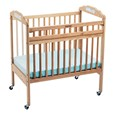 Drop-Gate ClearView Safety Crib