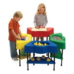 Four-Station Sensory Table