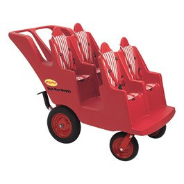 Never Flat Bye-Bye Buggy - Four Seats