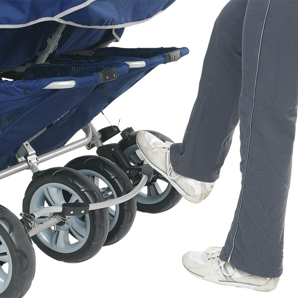 SureStop Folding Bye-Bye Stroller - Four Passenger<br>Locking foot pedal