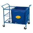 Ball Cart w/ Storage Bin & Shelf