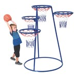 Four Rings Basketball Stand w/ Storage Bag - Stand
