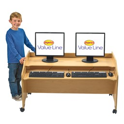 Value Line Computer Station - Double