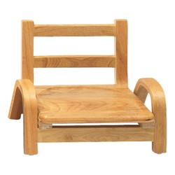 "Natural Wood Collection Ladder Back Chair (5"" Seat Height)"