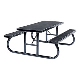 Rectangle Picnic Table (6\' L) - Navy