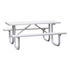 Aluminum Picnic Table (6\' L)