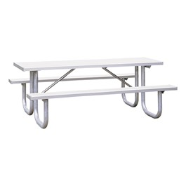 Aluminum Picnic Table (8\' L)