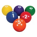 Voit Four-Square Utility Ball Set - Set of Six
