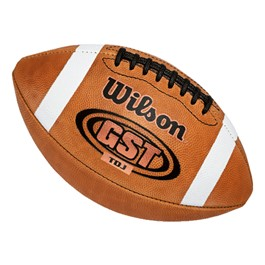 Wilson GST Leather Football - Junior Size