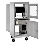 Mobile Computer Security Cabinet