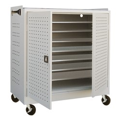 Mobile MLS Series Laptop Cart