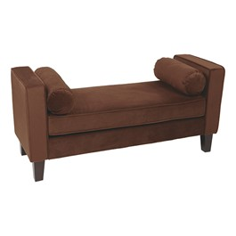Curves Series Bench w/ Two Bolsters