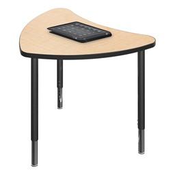 Chevron Collaborative Student Desk - Maple
