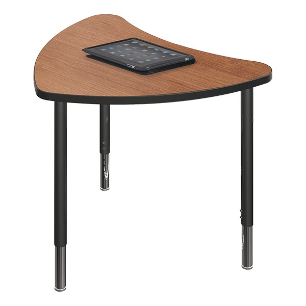 Chevron Collaborative Student Desk - Cherry
