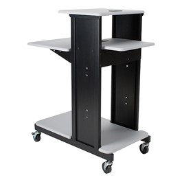 Extra Long Presentation Cart - Gray