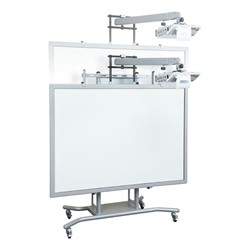 iTeach2 Mobile Interactive Whiteboard Stand - Height Adjustment