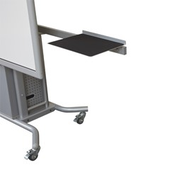 iTeach2 Mobile Interactive Whiteboard Stand - Optional Sidewing Table