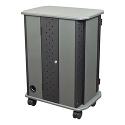 16-Outlet Economy Charging Cart - Rear