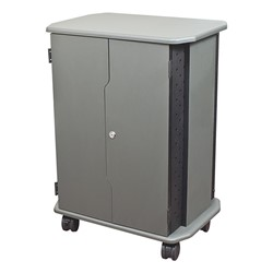 16-Outlet Economy Charging Cart - Closed