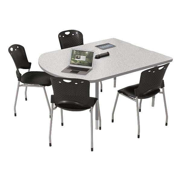 MediaSpace Multimedia & Collaboration Table - Small - Gray